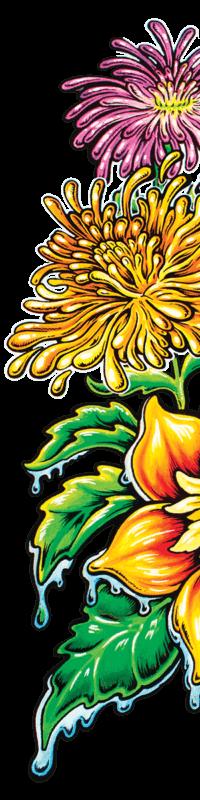 Mother Earth bg powerflower right