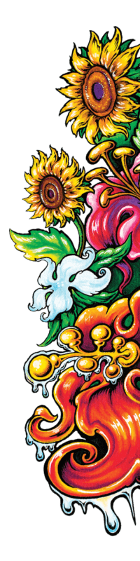 Mother Earth bg liquicraft bloom right