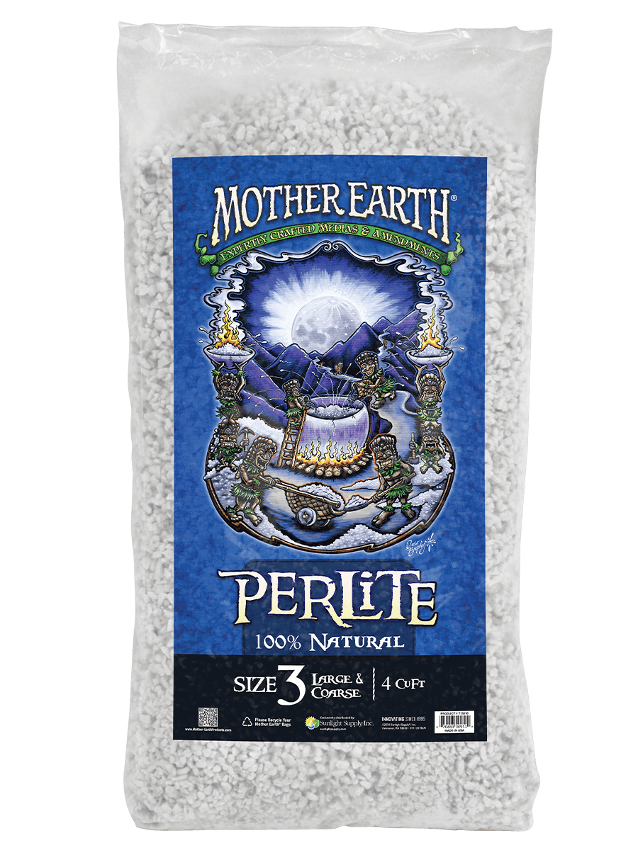 Mother Earth perlite size